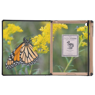 Monarch on Goldenrod iPad Covers