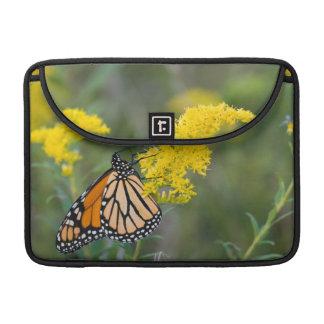 Monarch on Goldenrod Sleeve For MacBooks