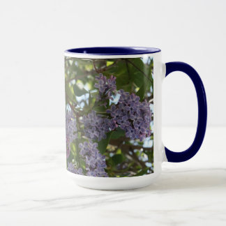 Monarch on Lilacs Mug