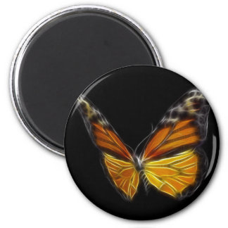 Monarch Orange Butterfly Flying Insect Magnet