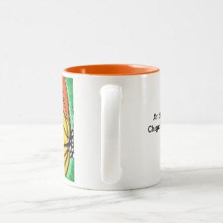 Monarch Pollinator Two-Tone Coffee Mug