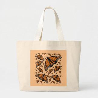 Monarch Rain Jumbo Tote Bag