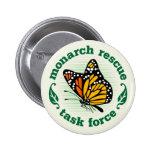 Monarch Rescue Badge Buttons