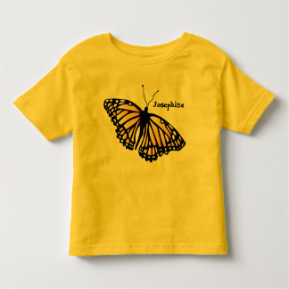 Monarch Toddler Shirt - Personalized