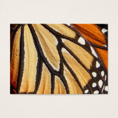 Monarch Wing ~ Atc Business Card at Zazzle