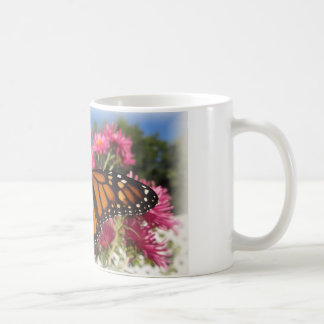 Monarch Wings - with white vignette Coffee Mug