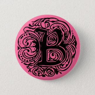"""Monarchia Black  """"B"""" Button"""