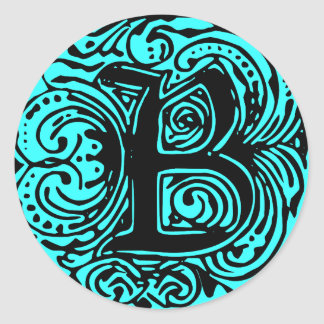 """Monarchia Black  """"B"""" Stickers"""