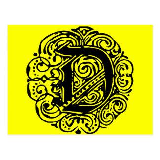 "Monarchia Black  ""D"" Post Cards"