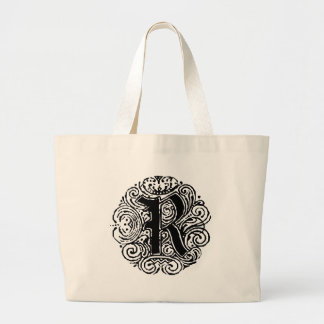 "Monarchia ""R"" Large Tote Bag"