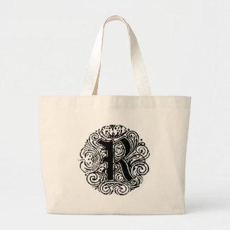 """Monarchia """"R"""" Tote Bags"""