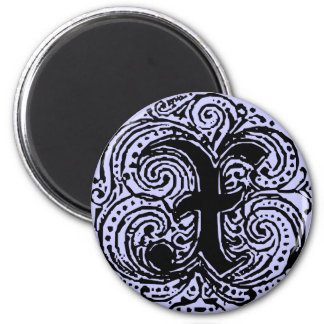 "Monarchia ""X"" 2 Inch Round Magnet"