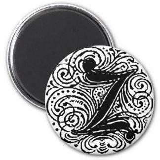 "Monarchia ""Z"" 2 Inch Round Magnet"