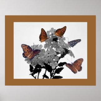 Monarchs and Penta Print