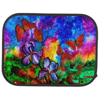 Monarchs at Sunset (Set of 2 Back Seat) Car Mats