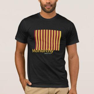 Monarchy concept line - T- shirt