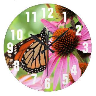 Monarchy Large Clock