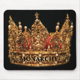 Monarchy mousepad