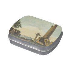 Monasterboice Church Tower Co Louth Ireland 1833 Jelly Belly Candy Tins at Zazzle
