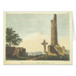 Monasterboice Church Tower Co Louth Ireland 1833 Card at Zazzle
