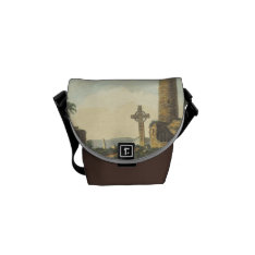 Monasterboice Church Tower Co Louth Ireland 1833 Courier Bag at Zazzle