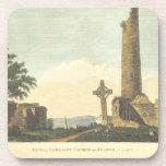 Monasterboice Church Tower Co Louth Ireland 1833 Drink Coaster at Zazzle
