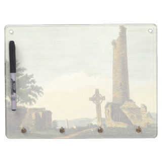 Monasterboice Church Tower Co Louth Ireland 1833 Dry-Erase Whiteboards