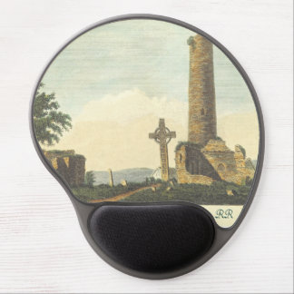 Monasterboice Church Tower Co Louth Ireland 1833 Gel Mouse Pad