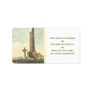 Monasterboice Church Tower Co Louth Ireland 1833 Label at Zazzle
