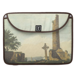Monasterboice Church Tower Co Louth Ireland 1833 Sleeves For MacBook Pro