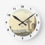 Monasterboice Church Tower Co Louth Ireland 1833 Round Clock at Zazzle