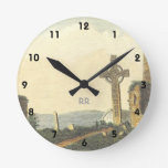 Monasterboice Church Tower Co Louth Ireland 1833 Round Clock at Zazzle