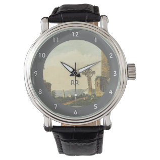 Monasterboice Church Tower Co Louth Ireland 1833 Wristwatches at Zazzle