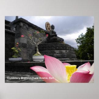 Monasterio Brahmavihara Arama, Bali del poster