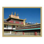 Monasterio budista tibetano tarjetas postales
