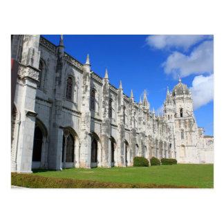 Monasterio de Jeronimos en Belem Lisboa Portugal Postales