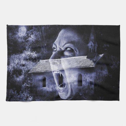 Monasterio de los vampiros toalla