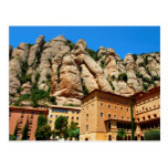 Monasterio de Montserrat, Cataluña, España Tarjeta Postal