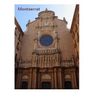Monasterio de Montserrat Postal