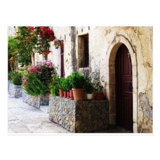 Monasterio de Preveli Creta Rethymnon Grecia Postales