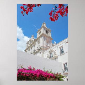 Monasterio de São Vicente de Fora en Lisboa Posters
