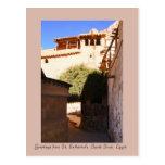 Monasterio del St. Catherine, Sinaí del sur, Egipt Postal