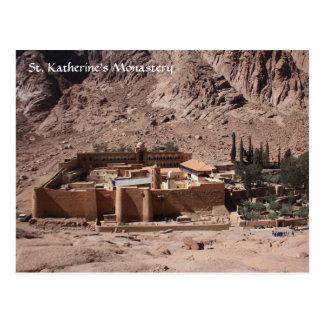 Monasterio del St. Katherine Postales