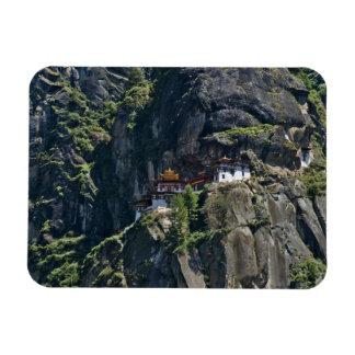 Monasterio en el acantilado, Paro, Bhután de Takts Imanes