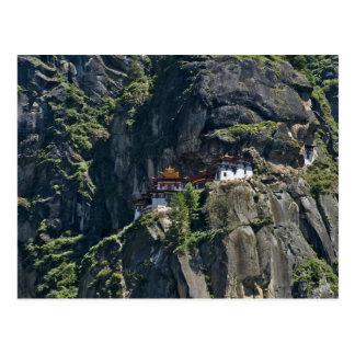 Monasterio en el acantilado, Paro, Bhután de Takts Postal