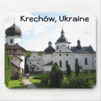 Monasterio ortodoxo en Krechow, cojín de ratón de  Mouse Pads