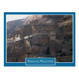 Monasterio ortodoxo griego en Jericó, Palestina Postal