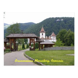 Monasterio Rumania 1 de Brancoveanu Postales