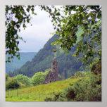 Monasterio viejo en Irlanda Impresiones