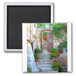 Monastery 3 2 inch square magnet